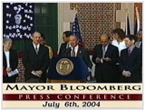 Mayor Bloomberg Press Conference